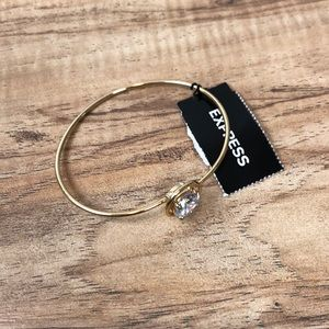 Express Gold Bracelet New With Tags